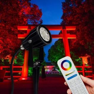 s.LUCE iLight LED-Gartenstrahler 6W RGB + CCT LED-Lampe Farbwechsel & Dual White - Vorschau 5