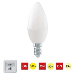 E14 LED-Leuchtmittel Kerze 6W 470lm dimmbar per Schalter - Vorschau 2