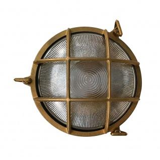 Nordlux Schiffsleuchte Polperro IP64 Messing, Glas 49021035