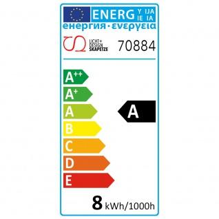 E27 LED Retro-Tropfen Kopfspiegel Silber 400lm Warmweiß dimmbar - Vorschau 5