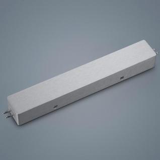 Helestra 6031.18 VIGO System Netzteilgehäuse für Mitteleinspeisung / Alu-matt