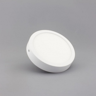 Aufbau LED-Panel Ultra mit Mini-Rahmen 1440lm, Ø 14cm, warm