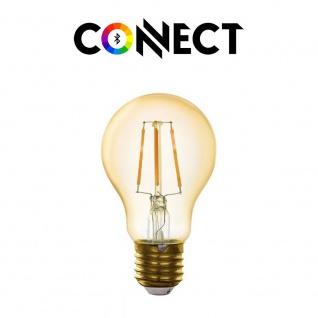 Connect E27 LED Retro 500lm Warmweiß
