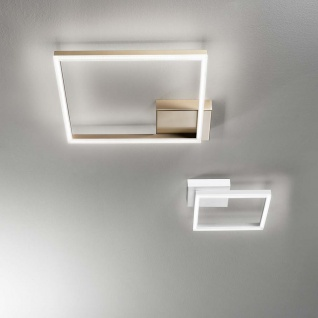 Fabas Luce LED Deckenlampe Bard 1980lm Gold-Edelmatt - Vorschau 2