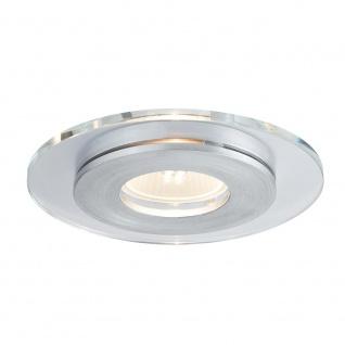 Paulmann Premium EBL Set single Shell LED 3x3, 5W GU10 120mm Alu-Gebürstet Glas 92726