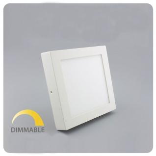 LED Deckenleuchte Dimmbar 17x17cm Warmweiß 960lm Weiß