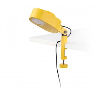 LED Tisch-Klemmlampe INVITING 6W 2700K-4800K IP20 Gelb