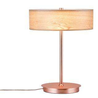 Paulmann 79647 Neordic Liska Holz Tischleuchte 2-flammig / Kupfer - Vorschau 1