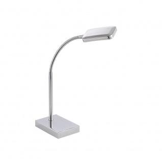 LeuchtenDirekt 11240-17 Wella LED Flex Tischleuchte + Schalter 4, 20W 3000K Chrom - Vorschau 2