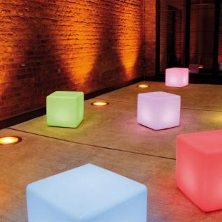 Moree Cube LED Sitzwürfel Pro mit Akku Sitzmöbel