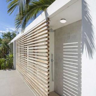 Licht-Trend LED Außenwand- & Deckenleuchte Mini IP54 Ø 14cm Anthrazit