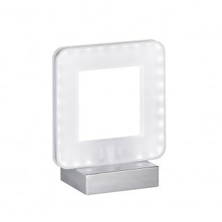 Wofi LED Tischleuchte NIC in puristischem Design Chrom 808301015000