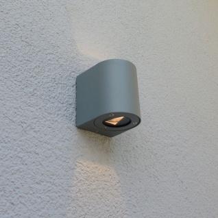 nordlux canto led aussen wandleuchte 700 lumen edelstahl wandlampe aussen kaufen bei licht. Black Bedroom Furniture Sets. Home Design Ideas