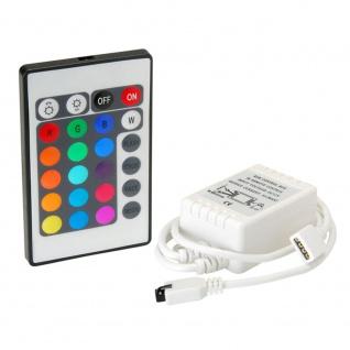 RGB-Controller mit Fernbedienung 12V-24V bis 2A