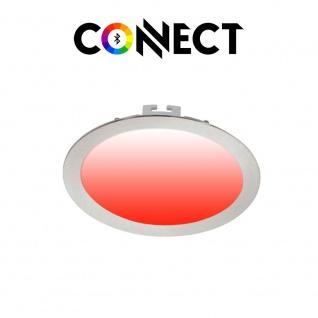 Connect LED Einbauleuchte Ø 22, 5cm 2000lm RGB+CCT