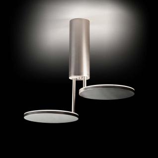 Holtkötter Invader LED-Deckenleuchte max. 40cm Aluminium-matt Deckenlampe