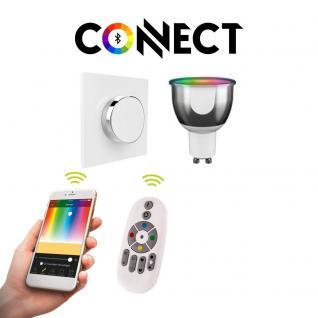 Starter Set GU10 Connect LED + Schalter mit Gestensteuerung / RGB+CCT