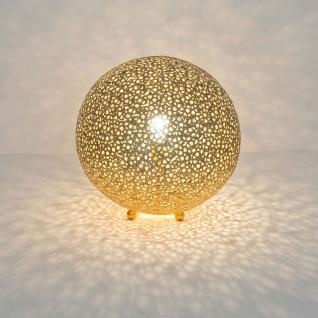 Holländer 300 K 12242 Tischleuchte Lily Grande Eisen Gold