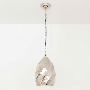 Holländer 704 1402 Hängeleuchte Madonna Aluminium Vernickelt Silber
