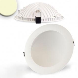 Indirektes Einbau LED-Panel 1030lm Ø 17, 3cm Warm Weiß