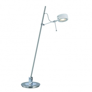 Paul Neuhaus 4492-55 Hape LED Tischlampe / 1-flammig / Tischleuchte Stahl-Chrom