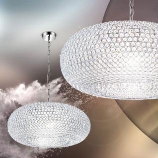 Edle Kristall Hängeleuchte Emilia 9-flammig Kristall Hängelampe Kristall-Leuchte
