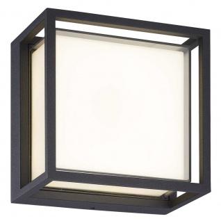 Mantra Chamonix quadratische Außen-LED-Deckenleuchte