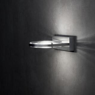 Holtkötter Wega / LED-Wandleuchte / 15 cm / Aluminium-matt / Wandlampe