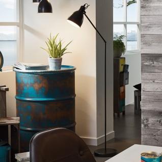 licht trend bonny bonny vintage stehleuchte 137 cm schwarz retro stehlampe kaufen bei. Black Bedroom Furniture Sets. Home Design Ideas
