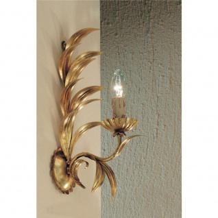 Kögl 10714 Palma Wandleuchte Blattgold-Auflage antik 40cm