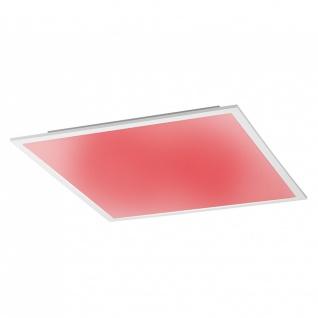 Licht-Trend Q-Flat 62 x 62 cm LED Deckenleuchte RGBW + Fb. / Weiss / Deckenlampe - Vorschau 3