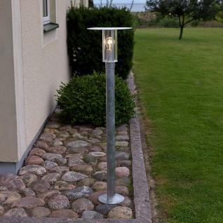 Konstsmide 662-320 Mode Wegeleuchte 111cm galvanisierter Stahl klares Polycarbonat Glas