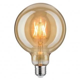 Paulmann LED Retro-Globe 125 6, 5W E27 Gold Warmweiß 28381