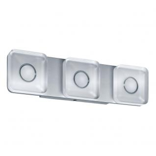 Paulmann WallCeiling eckig Tucana IP44 LED 13, 5W Alu eloxiert/Klar 230V Metall/Acryl /