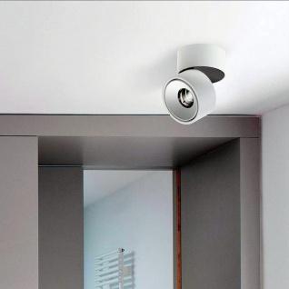 Licht-Trend LED Aufbauleuchte Simple 680lm Weiß, Schwarz