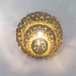 Terzani Tresor Wandleuchte Gold Wandlampe