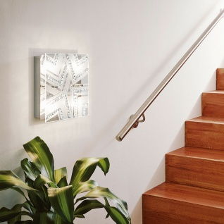 Eglo 93921 Verdesca LED Deckenleuchte 4-flammig Weiß Klar Chrom