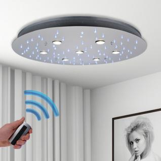 s.LUCE Star XL / LED-Deckenleuchte Sternenhimmel Ø 80 / Chrom / Deckenlampe