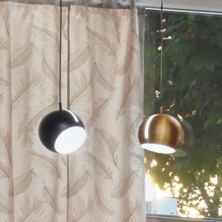 s.LUCE Pendelleuchte Ball 2.0 verstellbar Ø 20cm Goldfarben Hängelampe Hängeleuchte
