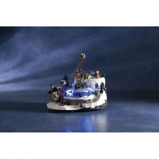 LED Szenerie Sessellift mit Animation bunte Dioden 12V Innentrafo - Vorschau 4