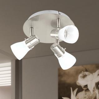 Licht-Trend Dorna LED-Deckenleuchte 3er Schiene Chrom Deckenlampe