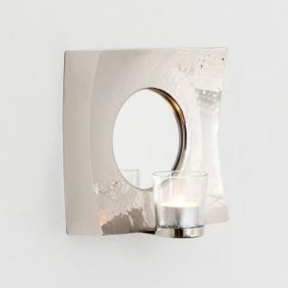 Holländer 288 3503 Spiegelwindlicht Basilico Aluminium-Spiegelglas Silber