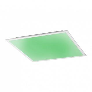 Licht-Trend Q-Flat 45 x 45cm LED Deckenleuchte RGBW + Fb. Weiss Deckenlampe - Vorschau 4