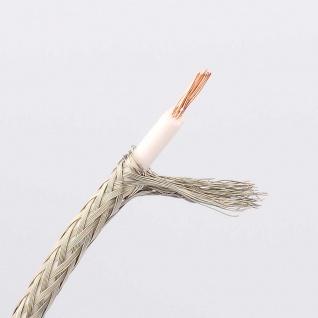 Isoliertes Koaxialkabel 2 x 0, 7mm 1 Meter Zubehör
