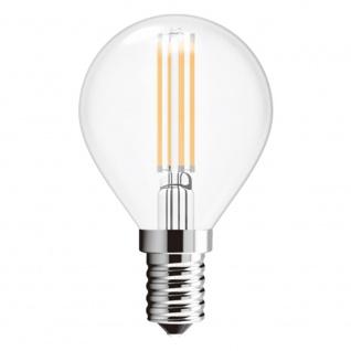 E14 2er-Set LED Leuchtmittel Filament 4W 400lm 2700K