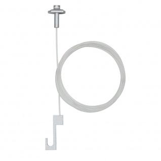 Paulmann ULine System L+E Galeria Bild-Aufhängung 2er Pack Transparent Metall/Kunststoff