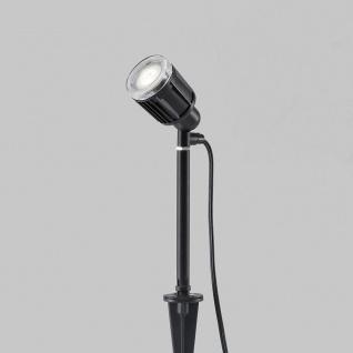 Konstsmide 7645-000 Amalfi LED Erdspießleuchte 1-flg. 12V Schwarz - Vorschau 4
