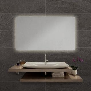 LED Bad Spiegel Nevada L 100 x 60cm mit Hintergrundbeleuchtung