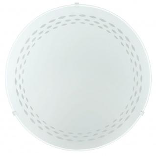 Eglo 82893 Twister Wand- & Deckenleuchte Ø 25cm Motiv Linien Weiß