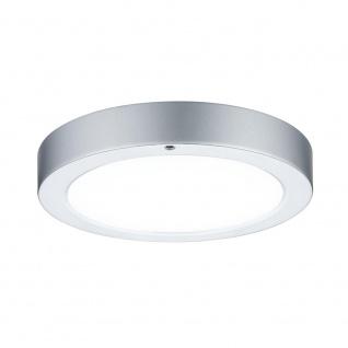 Paulmann WallCeiling Smooth LED-Panel 210mm 7, 5W 230V Chrom matt/Weiß Metall/Kunststoff